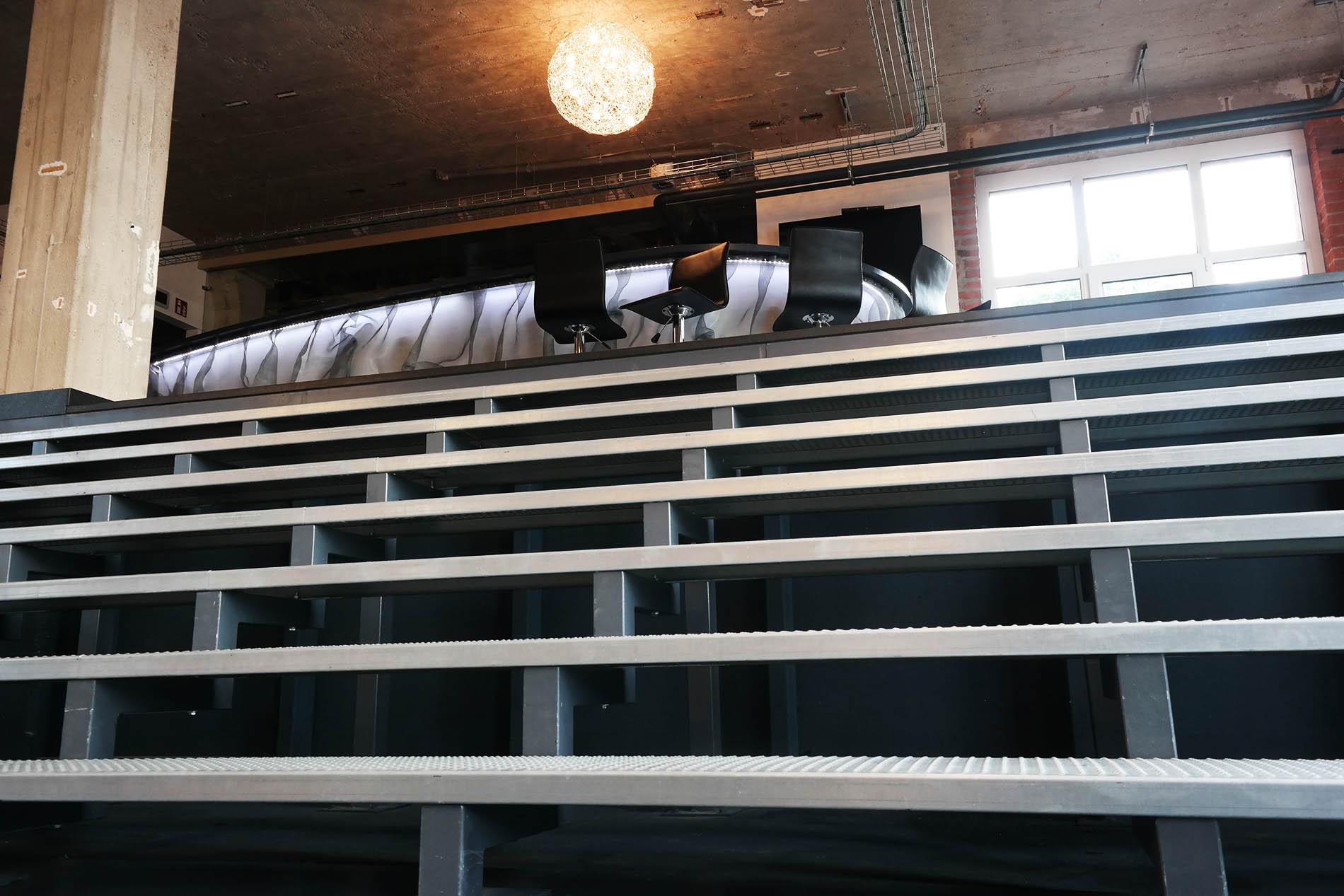 panoramatreppe für puplikum
